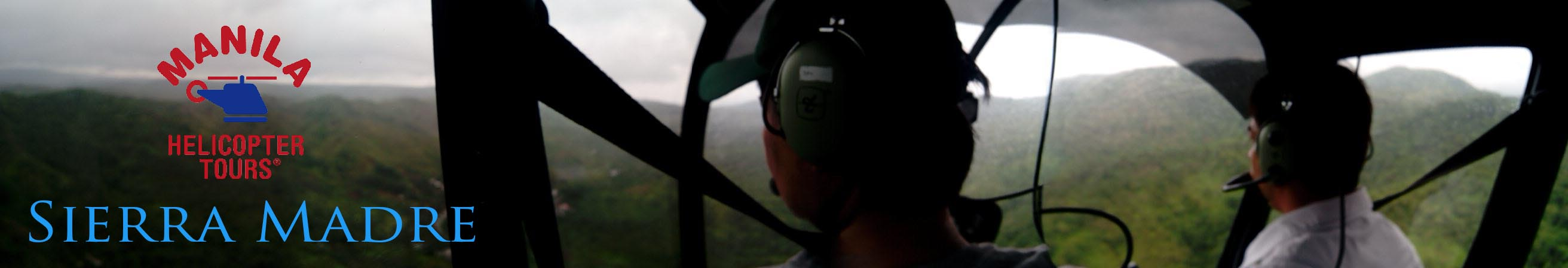 Manila Helicopter Mountain Cabin Trip